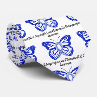 Amyotrophic Lateral Sclerosis ALS with Butterfly Tie
