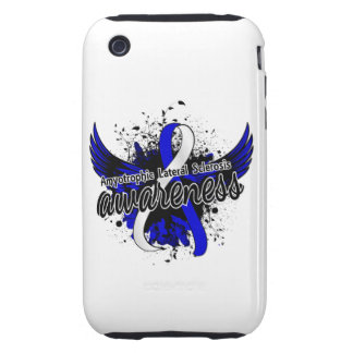 Amyotrophic Lateral Sclerosis Awareness 16 iPhone 3 Tough Cover