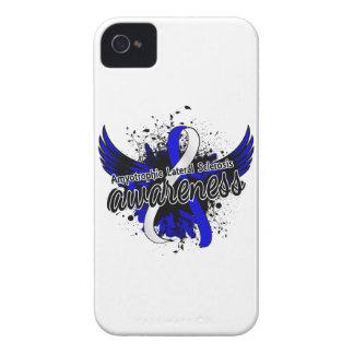 Amyotrophic Lateral Sclerosis Awareness 16 iPhone 4 Case-Mate Cases