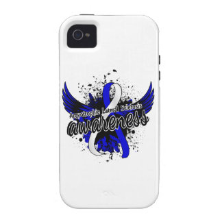 Amyotrophic Lateral Sclerosis Awareness 16 iPhone 4 Cases