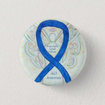 Amyotrophic Lateral Sclerosis Awareness Ribbon Pin