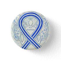 Amyotrophic Lateral Sclerosis Awareness Ribbon Pin
