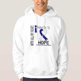 Amyotrophic Lateral Sclerosis  I Hold On To Hope Hoodie