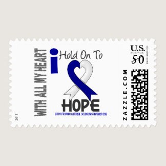 Amyotrophic Lateral Sclerosis  I Hold On To Hope Postage