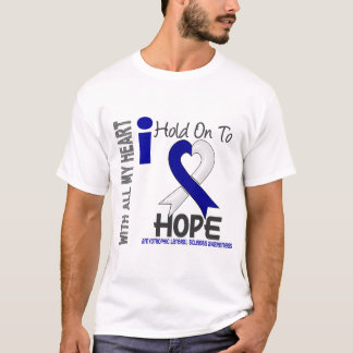 Amyotrophic Lateral Sclerosis  I Hold On To Hope T-Shirt