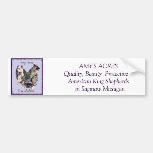 Amys Acres Bumper sticker