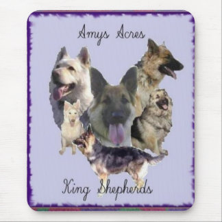 Amys Acres King Shepherds Mouse Pad