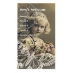 Amy's Antiques Double-Sided Standard Business Cards (Pack Of 100)