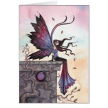 Amythest Dream Fairy Fantasy Art Card
