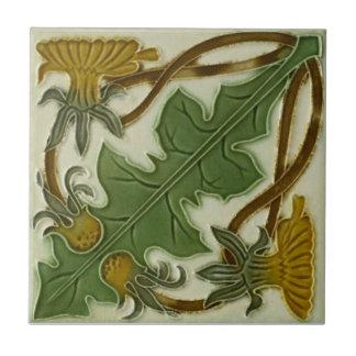 AN009 Art Nouveau Reproduction Antique Tile