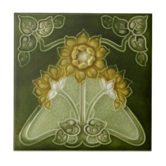 AN013 Art Nouveau Reproduction Antique Tile