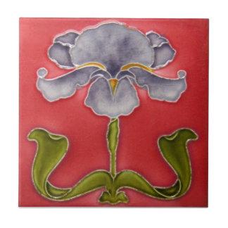 AN018 Art Nouveau Reproduction Antique Tile