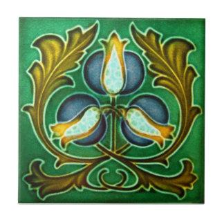 AN020 Art Nouveau Reproduction Antique Tile