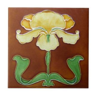AN023 Art Nouveau Reproduction Antique Tile