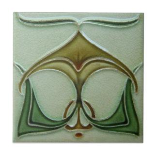 AN026 Art Nouveau Reproduction Antique Tile