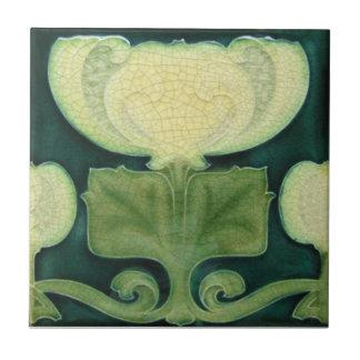 AN035 Art Nouveau Reproduction Antique Tile
