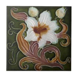 AN096 Art Nouveau Reproduction Antique Tile