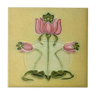 AN100 Art Nouveau Reproduction Antique Tile