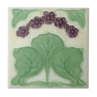 AN102 Art Nouveau Reproduction Antique Tile