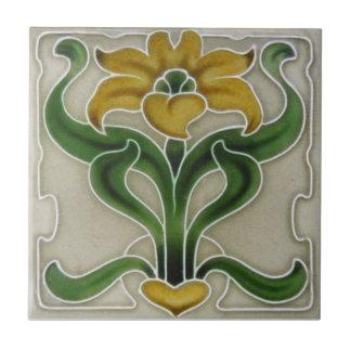 AN117 Art Nouveau Reproduction Antique Tile