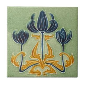 AN118 Art Nouveau Reproduction Antique Tile
