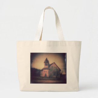 An Abandoned Church Large Tote Bag