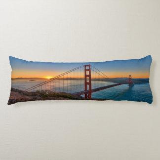 An absolutely stunning sunrise body pillow