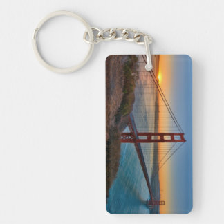 An absolutely stunning sunrise keychain