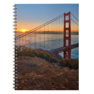 An absolutely stunning sunrise note book
