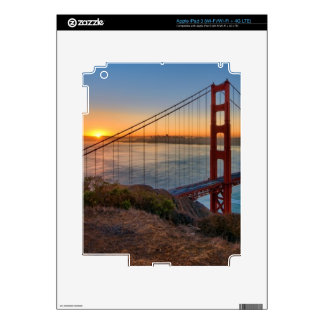An absolutely stunning sunrise skins for iPad 3