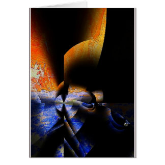 An Abstract Expression. Card