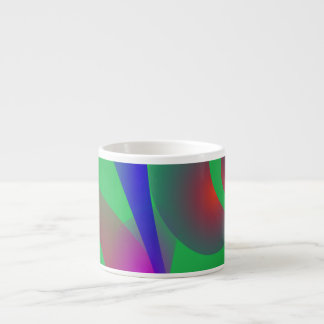 An Abstract Rose Espresso Cup