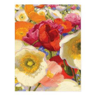 An Abundance of Flowers Postcard