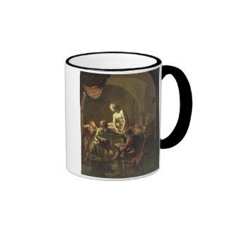 An Academy by Lamplight, c.1768-69 (oil on canvas) Mug
