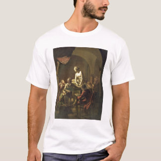 An Academy by Lamplight, c.1768-69 (oil on canvas) T-Shirt