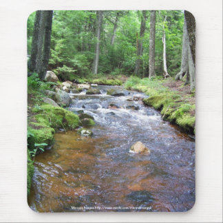 An Acadia Stream Mouse Pad