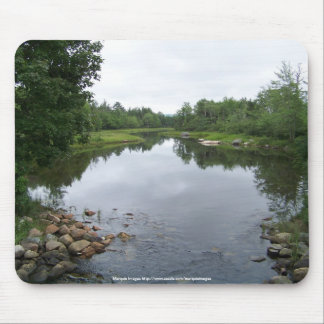 An Acadian Stream Mouse Pad