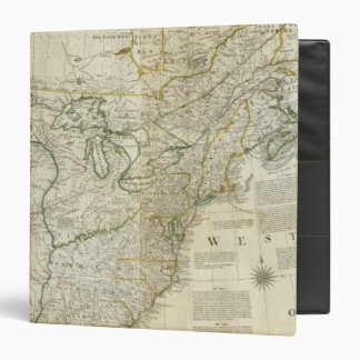 An Accurate Map Of North America Northern section Binders