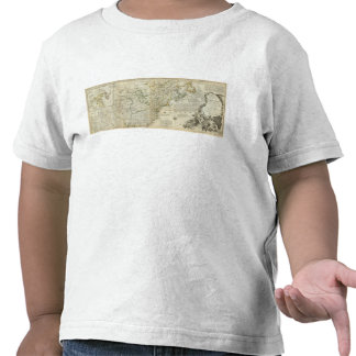 An Accurate Map Of North America Northern section T Shirts
