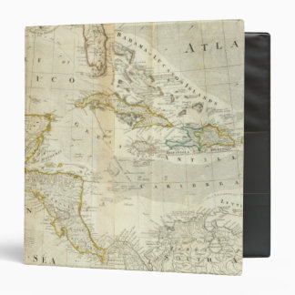 An Accurate Map Of North America Southern section 3 Ring Binders