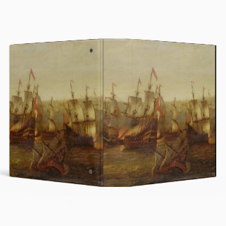 An Action between Spanish Ships and Barbary Galley Binder