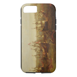 An Action between Spanish Ships and Barbary Galley iPhone 8/7 Case