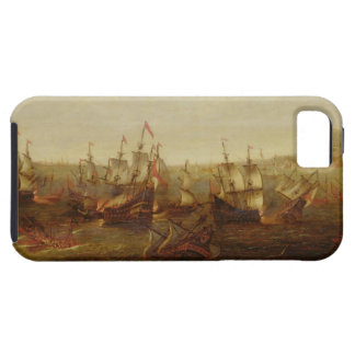 An Action between Spanish Ships and Barbary Galley iPhone SE/5/5s Case