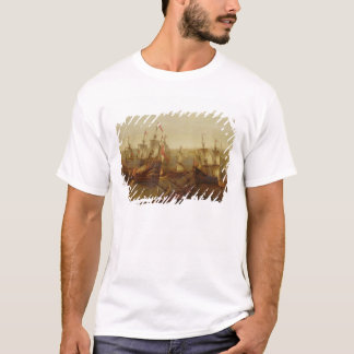An Action between Spanish Ships and Barbary Galley T-Shirt