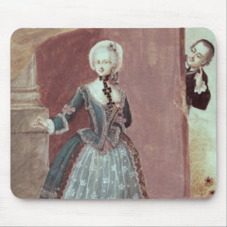 An Actress in the Role of Rosine Mousepads