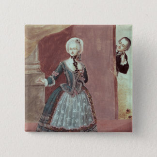 An Actress in the Role of Rosine Pinback Button