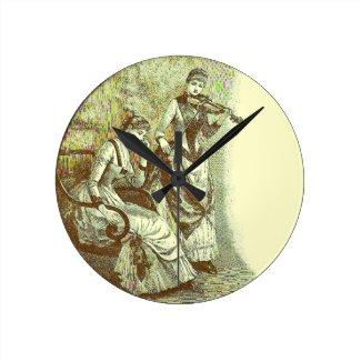 An Adagio Victoriana Wall Clock