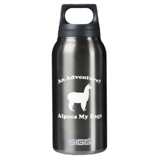 An Adventure? Alpaca My Bags Insulated Water Bottle