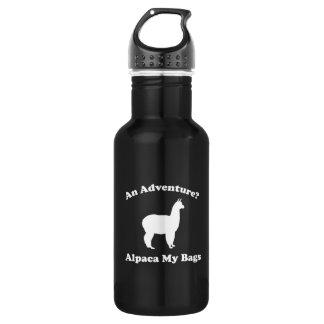 An Adventure? Alpaca My Bags Water Bottle
