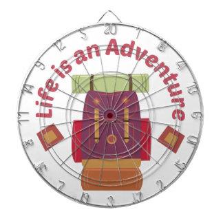 An Adventure Dartboard